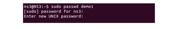 Linux passwd command