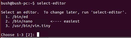 Choose a crontab editor