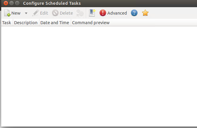 Configure scheduled tasks