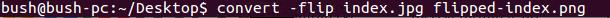 Command flip image