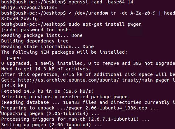 pwgen gets installed