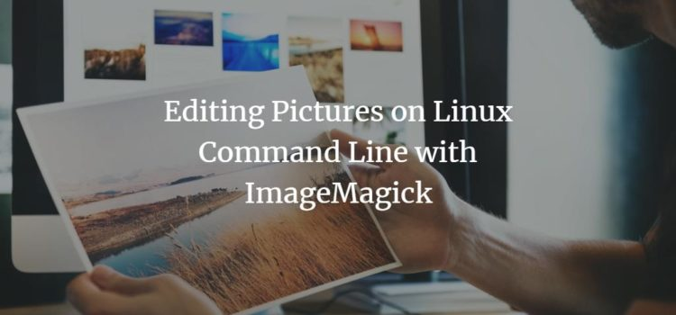 Editing Pictures on Linux Command Line with ImageMagick