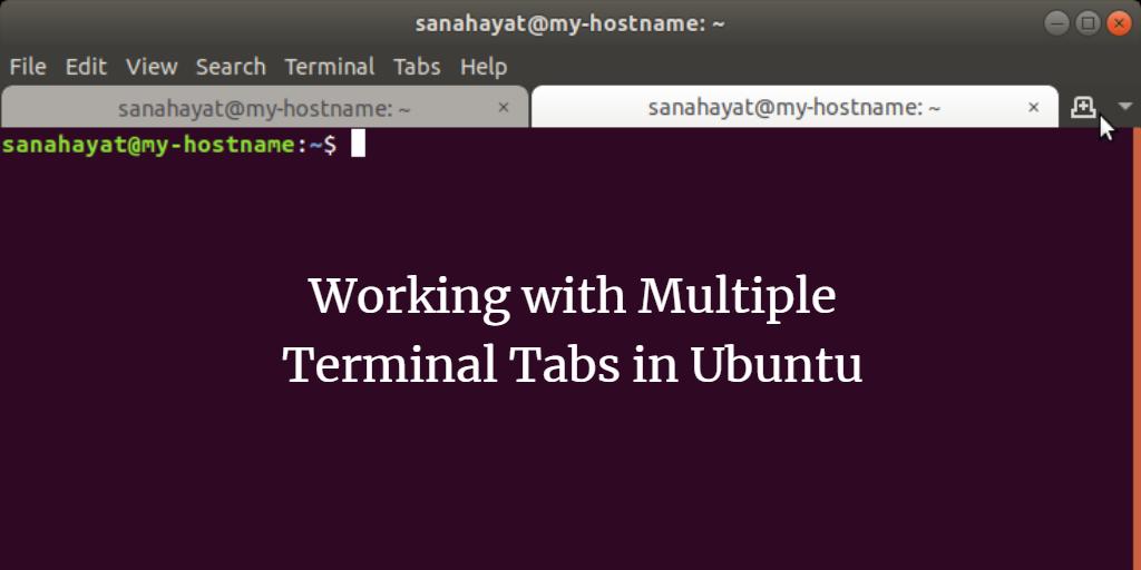 Working with Multiple Terminal Tabs in Ubuntu