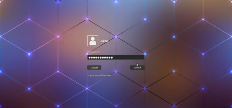 Customize Ubuntu Lock Screen