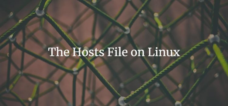 Linux hosts file