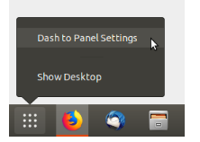 Customize dash panel