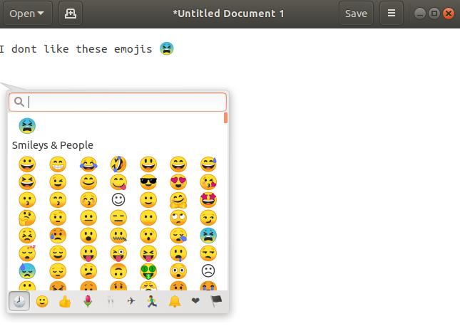 Emoji Dialog