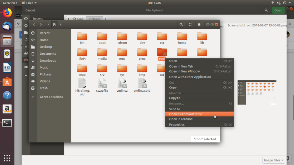 How to Open and Edit Files and Folders in Ubuntu Desktop as an