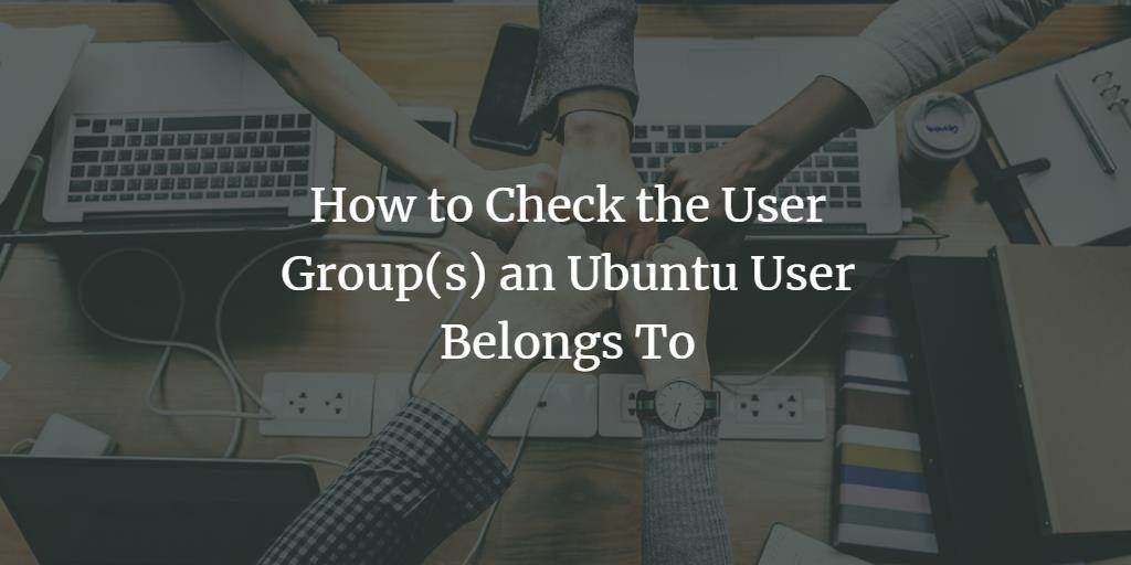 Ubuntu Linux user groups