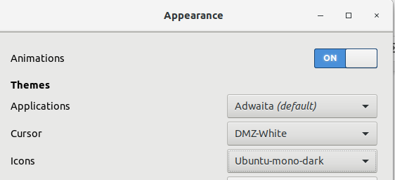 Change look of Icons in GNOME