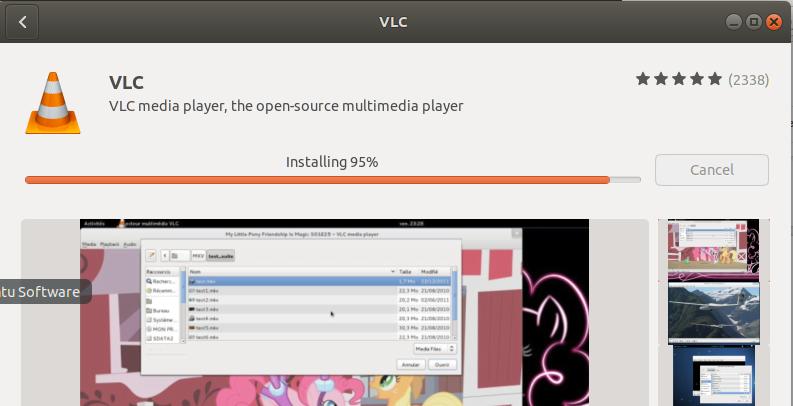 install vlc ubuntu 18.04