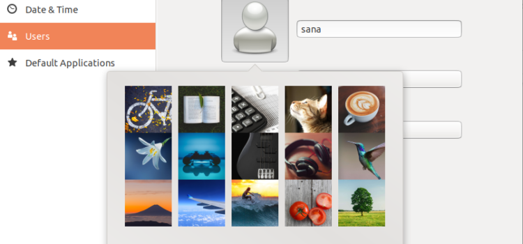 Give your Ubuntu User Account a Profile Picture