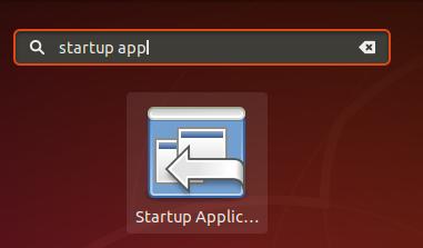 Open startup app