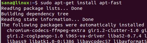 Install apt-fast