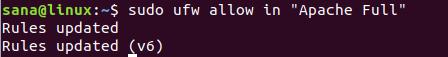 Configure UFW Firewall