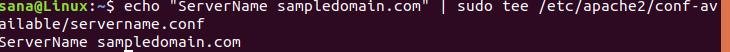 Resolve servername error