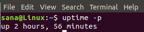 Get Ubuntu Uptime