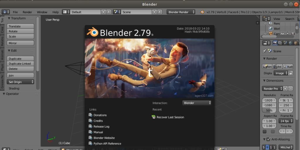 How to Install Blender 3D on Ubuntu 18 04