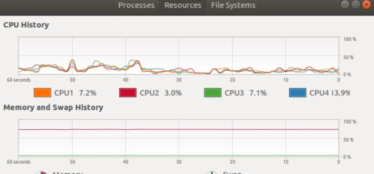 How to Install and Use GNOME System Monitor and Task Manager in Ubuntu