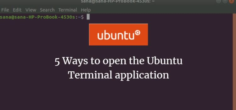 5 Ways to open Ubuntu Terminal