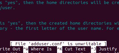 Editing /etc/adduser.conf