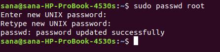 Ublock root account
