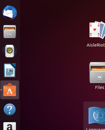 Start the Ubuntu Software Manager