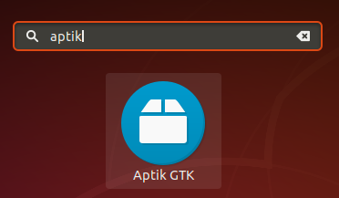 Locate Aptik application