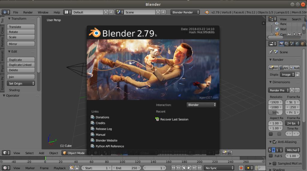 Blender 2.7.9
