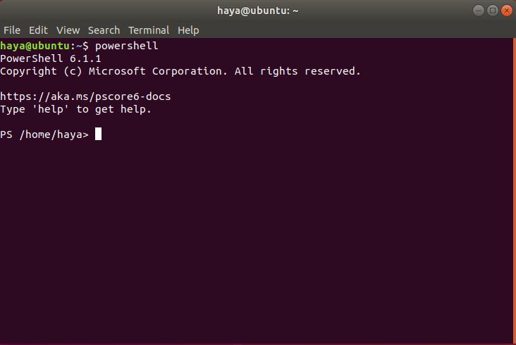 Microsoft PowerShell on Ubuntu
