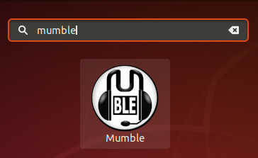Search Mumble in dash