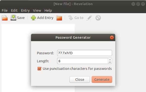Revelation password Generator