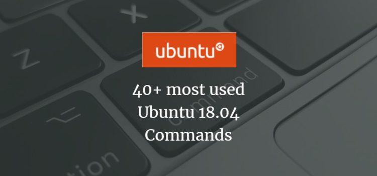 Ubuntu Commands