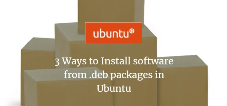 Ubuntu .deb package install