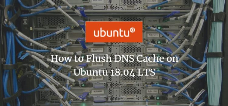 How to Flush DNS Cache on Ubuntu 18.04 LTS