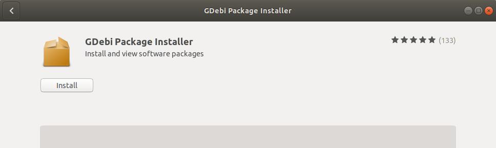 Install GDebi