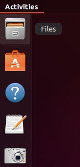 File Manager in Ubuntu Dock