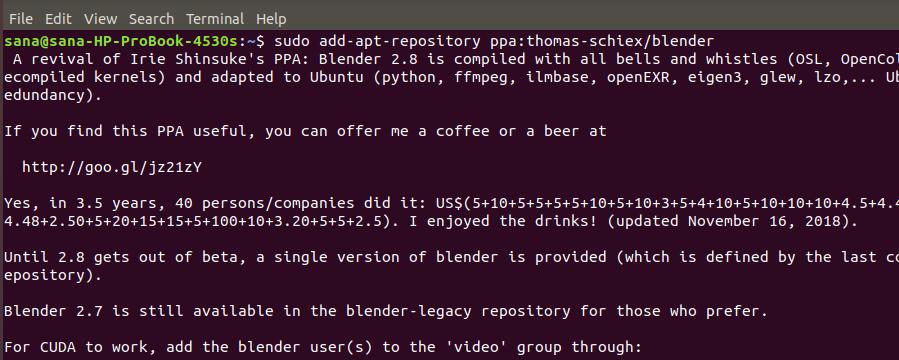 Add PPA repository on Ubuntu