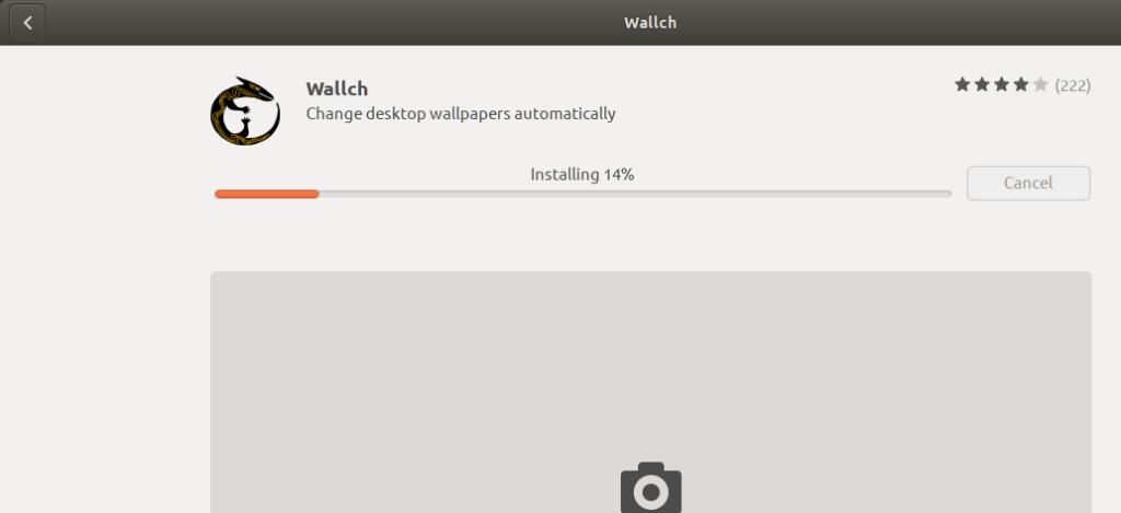Installing Wallch