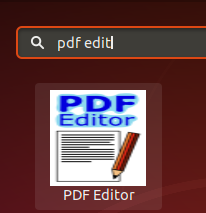 Launch PDFEdit