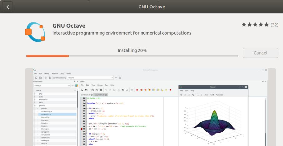 Installing GNU Octave