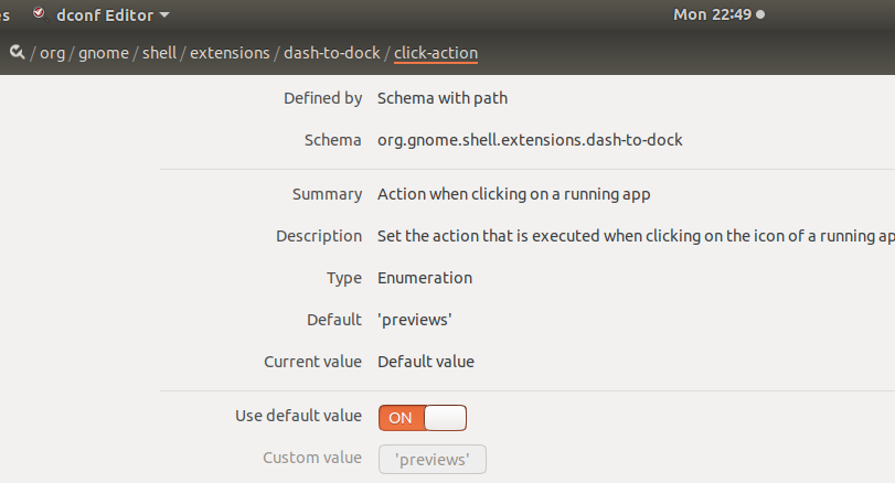 Configure Click action