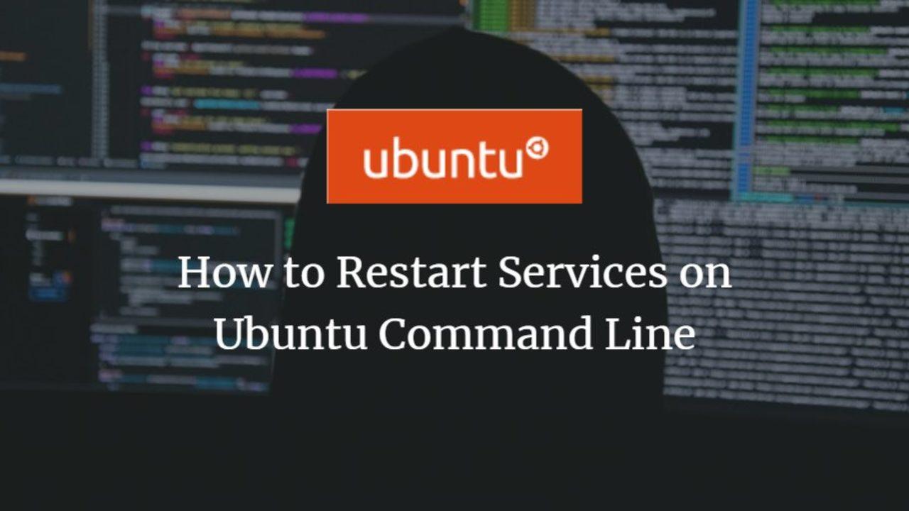 ubuntu 18.04 restart network