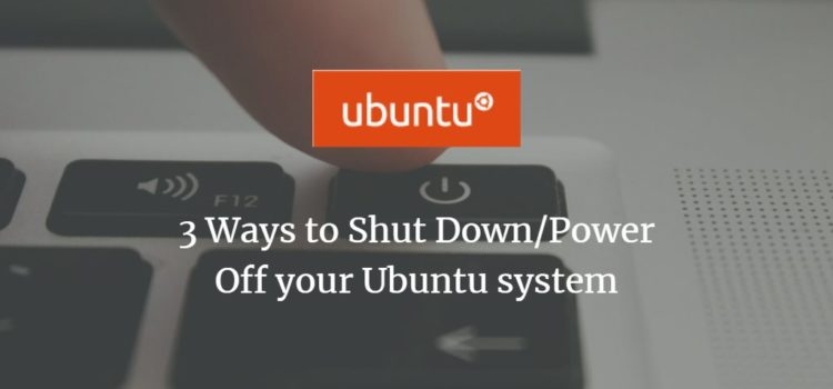 Ubuntu Shut Down