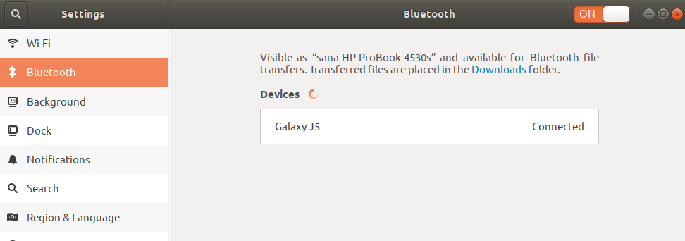 How to Use Bluetooth on Ubuntu for File Transfer