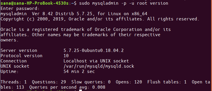 How to Install and Configure MySQL in Ubuntu 18 04 LTS