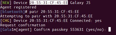 Pair Bluetooth Devices in Ubuntu