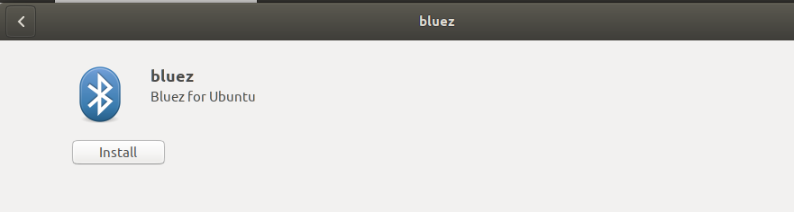 Install Bluez Bluetooth software
