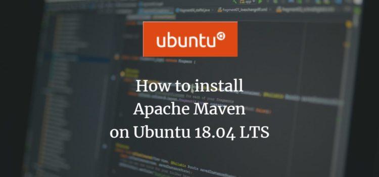 Apache Maven installation on Ubuntu