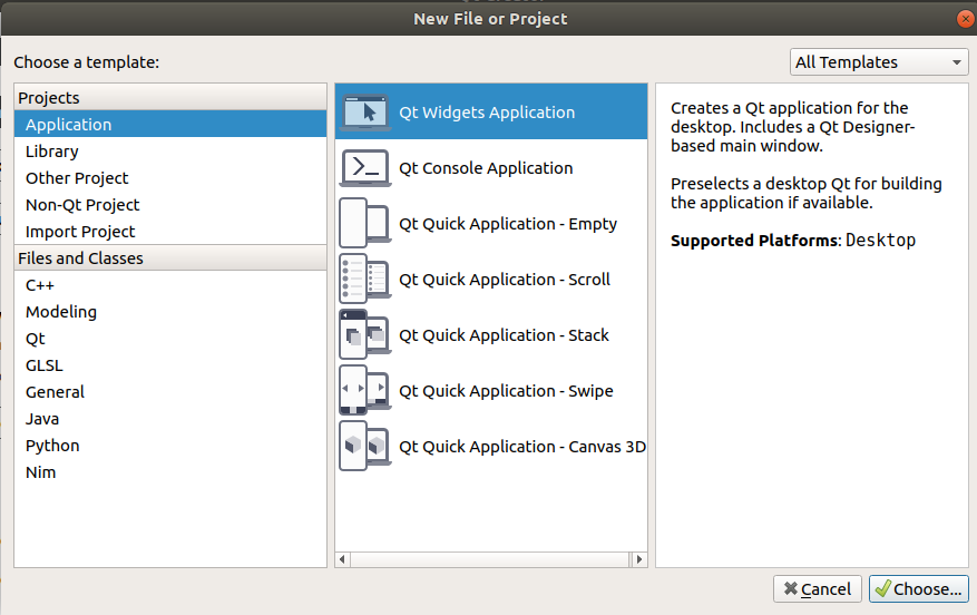 Compiling your first Qt Program in Ubuntu